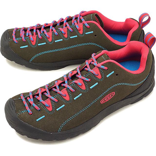 【即納】キーン KEEN メンズ ジャスパー MEN JASPER アウトドア スニーカー 靴 Tarmac/Bright Rose [1020304 SS19]