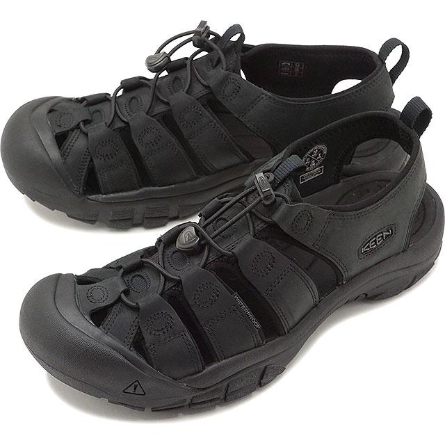 【15%OFF/SALE】キーン KEEN メンズ ニューポート MEN NEWPORT サンダル 靴 Black/Black [1020284 SS19]【ts】【e】