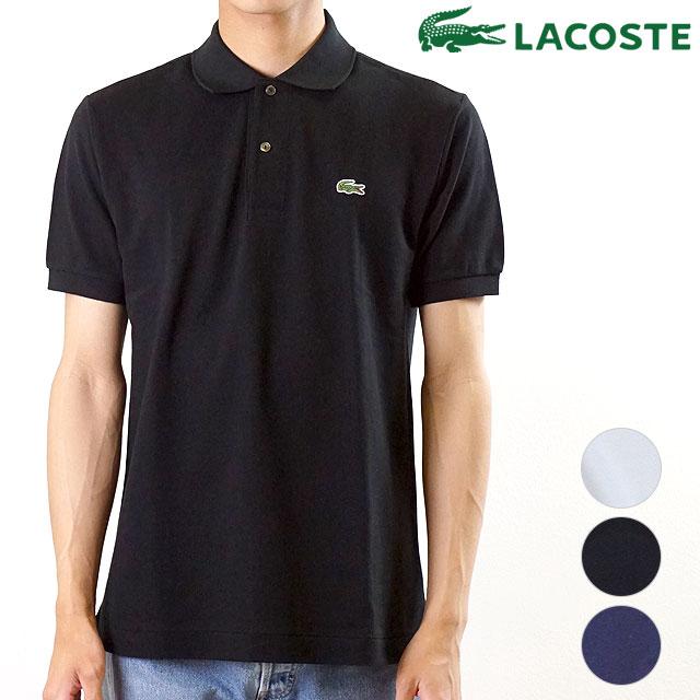 【即納】ラコステ LACOSTE メンズ ポロシャツ L.12.12 メンズ 日本製 半袖 無地 ポロ [L1212AL SS19]