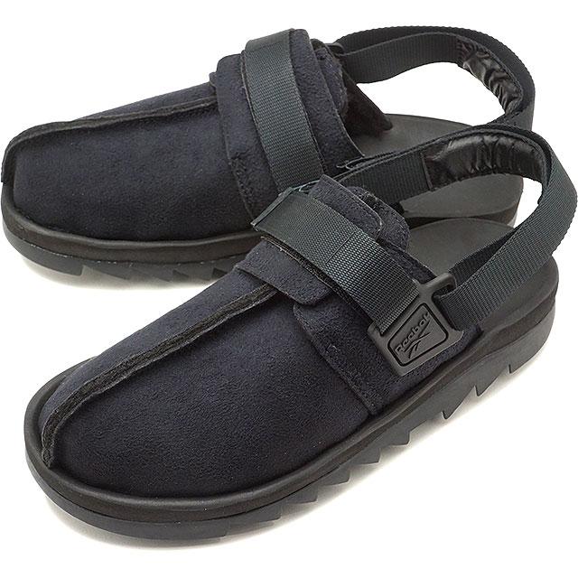 【即納】リーボック クラシック Reebok CLASSIC ビートニック シェルパ BEATNIC SHERPA メンズ スニーカー サンダル 靴 BLACK ブラック系 [DV7338 SS19]