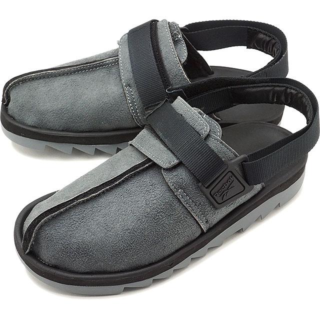 078aa21ab48a Reebok classical music Reebok CLASSIC beat Nic sherpa BEATNIC SHERPA men  sneakers sandal ALLOY BLACK gray system  DV7339 SS19