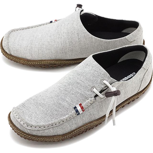 【即納】コンカラー シューズconqueror shoes メンズ オアシス OASIS サーフ カジュアル スニーカー 靴 WHT GRAY ホワイト系 [19SS-OA01 SS19]
