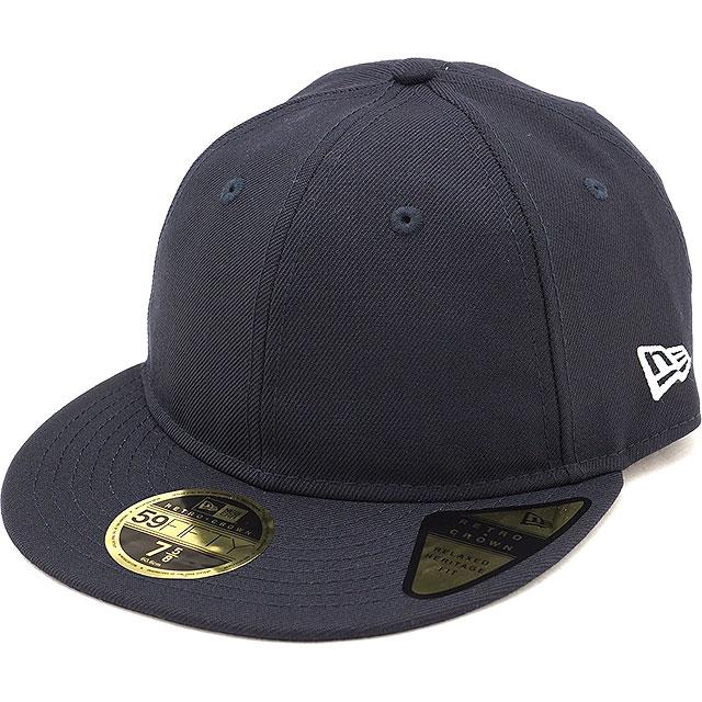 New gills cap NEWERA CAP 59FIFTY nostalgic crown flat visor Retro Crown  Flat Visor men gap Dis hat NAVY navy system (11924722 FW18) c69faa1dc27