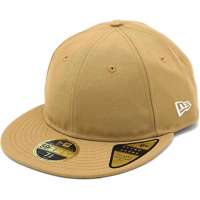 mischief  New gills cap NEWERA CAP 59FIFTY nostalgic crown flat visor Retro  Crown Flat Visor men gap Dis hat WHEAT beige system (11924720 FW18)  59773107a53