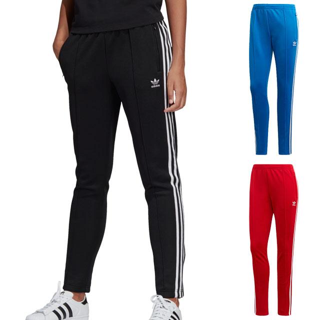 adidas Adidas jersey Lady's SST TRACK PANTS superstar trackpants adidas Originals Adidas originals [ELW35CE2400 SS18]