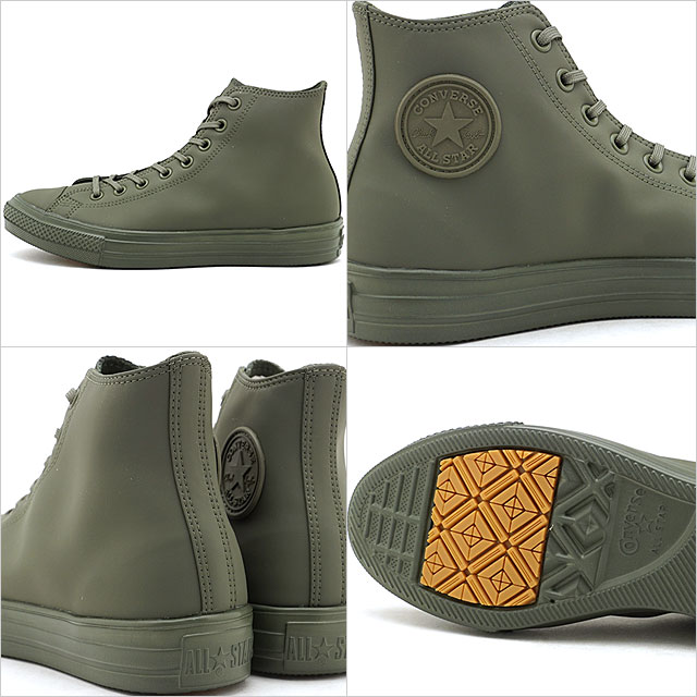 Converse CONVERSE all stars light WR SL higher frequency elimination ALL STAR LIGHT WR SL HI men gap Dis water repellent processing [KHAKI khaki