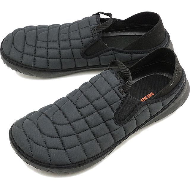 メレル MERRELL メンズ ハット モック M HUT MOC キャンプモック アウトドア ライフスタイルシューズ スニーカー 靴 TRIPLE BLACK ブラック系 [J90731 FW19]