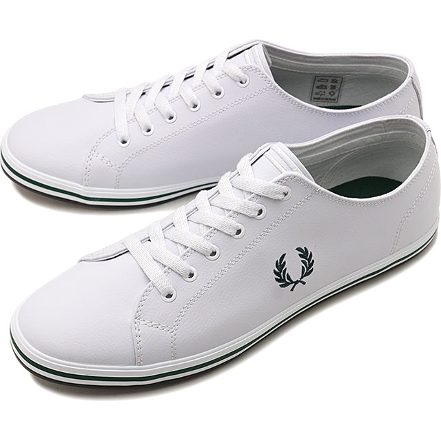 Fred Perry FRED PERRY sneakers Kingston leather KINGSTONE LEATHER men Lady's shoes WHITEIVY white system [B7163 100 FW19]