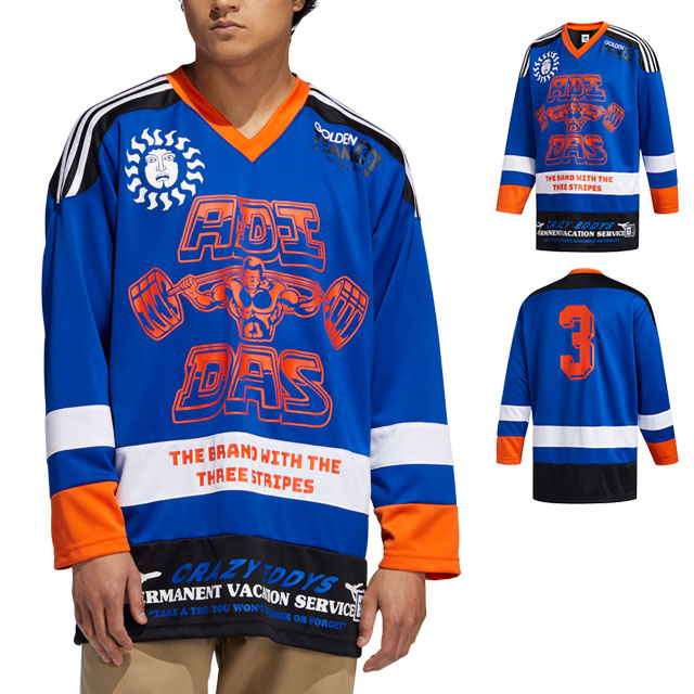 adidas hockey jersey
