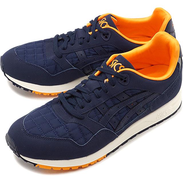 ASICS sports style Asics SportStyle gel saga GELSAGA men Lady's ASICS tiger asicsTIger sneakers shoes MIDNIGHTMIDNIGHT navy system [1191A187 400