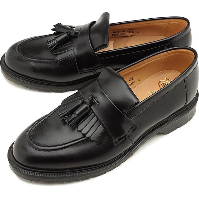 【スーパーSALE限定特価品】【お買得クーポン配布中】ソロヴェアー SOLOVAIR メンズ 英国製 タッセル ローファー ハイシャイン TASSEL LOAFER HI-SHINE ドレスシューズ 靴 BLACK ブラック系 [31040 FW19]【sp】【e】