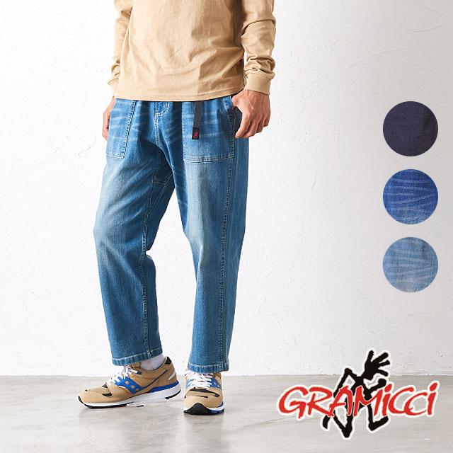 【カードで17倍】グラミチ GRAMICCI メンズ デニム ルーズ テーパード パンツ DENIM LOOSE TAPERED PANTS [GUP-19F005 FW19]