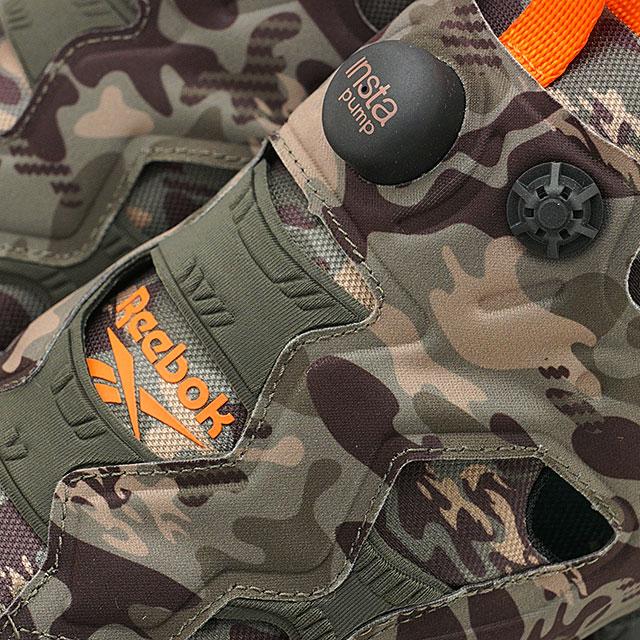 Reebok DV6962 insta Pump Fury OG MU Running shoes khaki orange sneakers