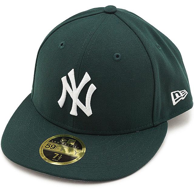ついに入荷 安心のニューエラ国内正規取扱店 お歳暮 サイズ交換片道無料 日本正規品 NEWERA 帽子 CAP MLB メージャーリーグベースボール 9 24まで カードで最大16倍 FW21 ダークグリーン メンズ ニューエラ NEYYAN LP59FIFTY レディース 12884763 ニューヨーク ヤンキース