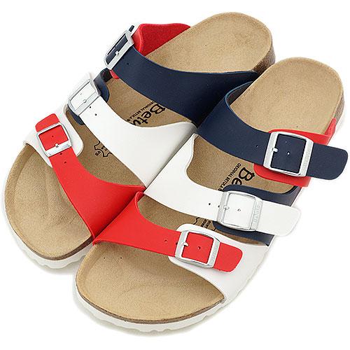 Betula ベチュラ BY BIRKENSTOCK Swing sandals swing WH/BLU/CHE (BL801203) / ビルケンシュトックレディースメンズ fs3gm