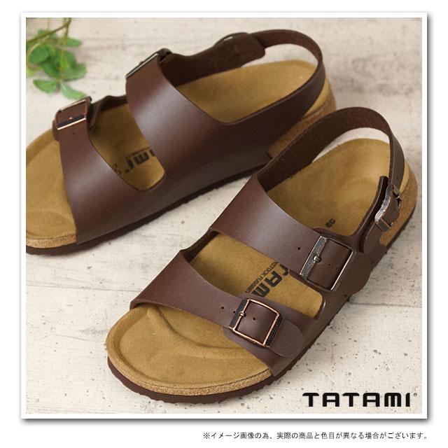 TATAMI タタミ Themse sandals Thames dark brown (BM817013) /BIRKENSTOCK ビルケンシュトックレディース さんだる sandal ladies レデイースビルケン シュトック fs3gm