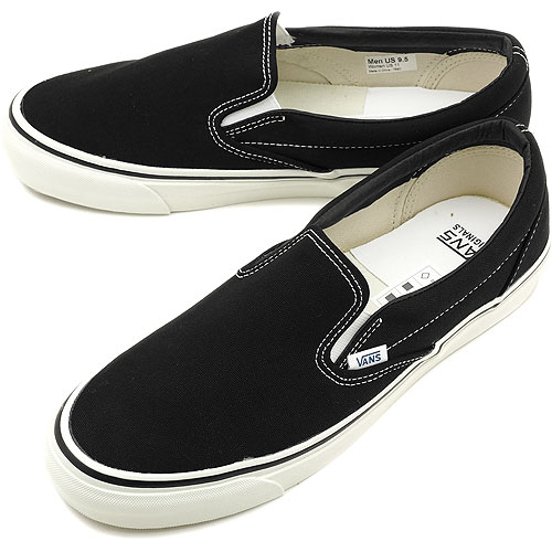 □□VANS vans sneakers VALUT OG CLASSIC SLIP-ON LX Wort original classical  music slip-on LX BLACK (VN-0OZCBLK SS12) e49ee18e16
