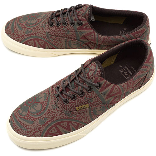 e9fb327f06 VANS vans sneakers CALIFORNIA ERA CA California Ella ( WASHED PAISLEY )  BITTER CHOCOLATE ( VN-0IM96GWFW12 )