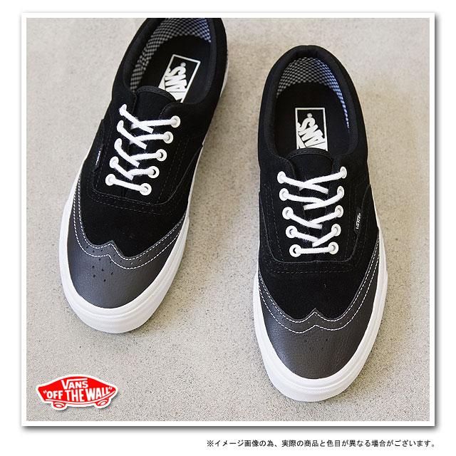 77f8bd8e307a01 ... □ surprise 40 %OFF! □ VANS vans sneakers CLASSICS ERA WINGTIP classic  Ella wing tip ( LEATHER SUEDE ) ( VN-0EXG69E FW12 ) BLACK
