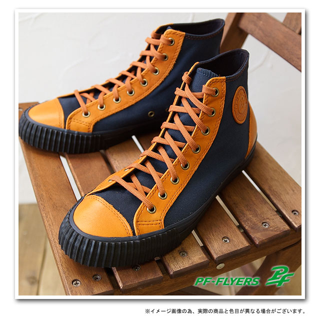 ■■PF FLYERS PF做油炸食品的人運動鞋CENTER HI中心高MOUNTAIN BLUE(PM12CH3Z FW12)