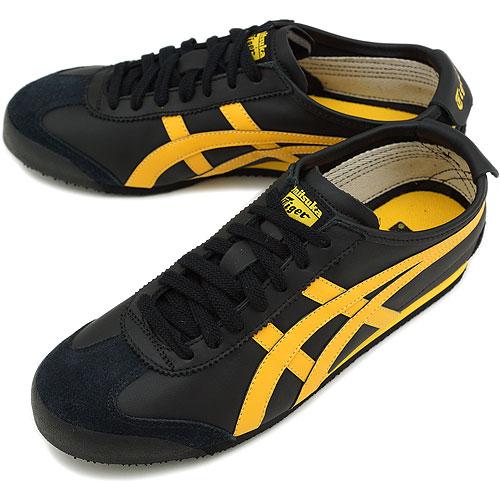 asics onitsuka tiger mexico 66 black yellow utility valor