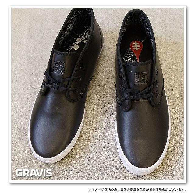 GRAVIS QUARTERS AWS MNS IV SKATE AWS BLACK/SILVER 282256-034