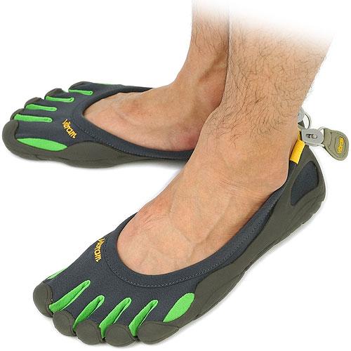 mens vibram fivefingers classic green
