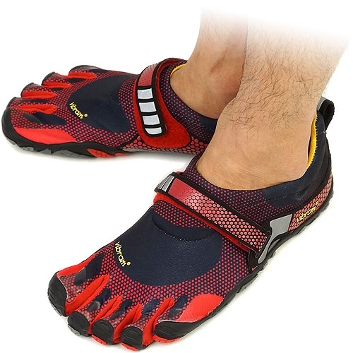 Vibram FiveFingers Vibram five fingers men's BIKILA Black/Red Vibram five fingers five finger shoes barefoot ( M3483 ) fs3gm