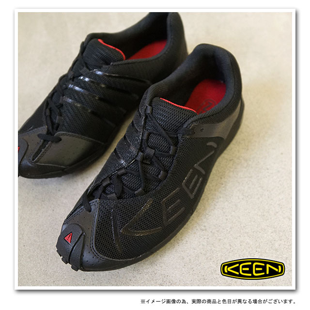 KEEN基恩A86 TR MNS跑步鞋人Black/Chili Pepper(1002229 FW11)