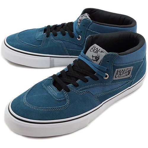 vans half cab blue