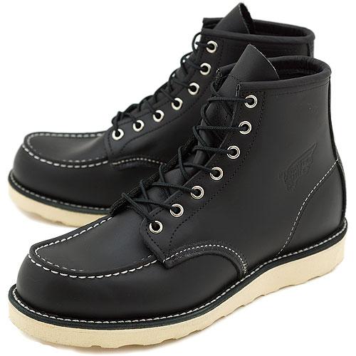 【返品サイズ交換可】レッドウィング アイリッシュセッター クラシック ワークブーツ 6インチ モックトゥ REDWING 8179 CLASSIC WORK BOOTS BLACK CHROME 靴【コンビニ受取対応商品】