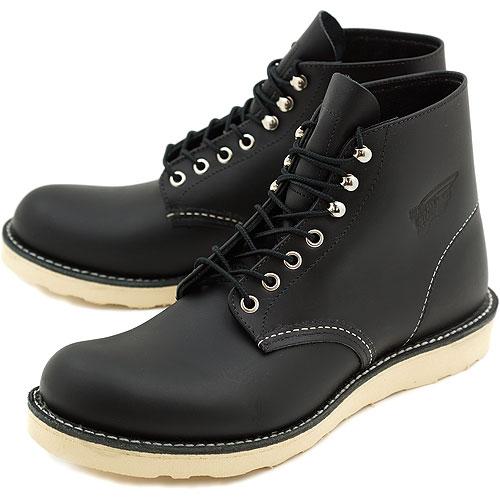 【絶品】 【返品サイズ交換可】レッドウィング クラシック ワークブーツ 6インチ ラウンドトゥ/プレーントゥ REDWING 8165 CLASSIC WORK BOOTS BLACK CHROME 靴【コンビニ受取対応商品】, 八開村 caa89ed6