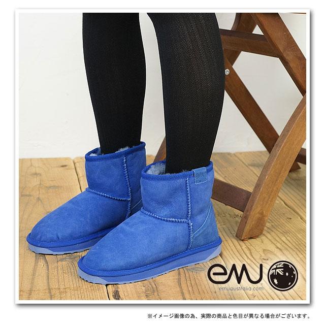 f42327f18c9 mischief: EMU EMU Sheepskin boots STINGER MINI Stinger mini COBALT ...