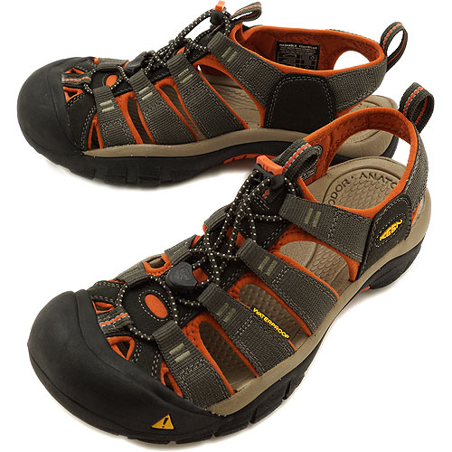 KEEN keen MNS Newport H2 Sport Sandals Newport H2 men's Black Olive/Bombay Brown ( 1008393 SS13 ) fs3gm