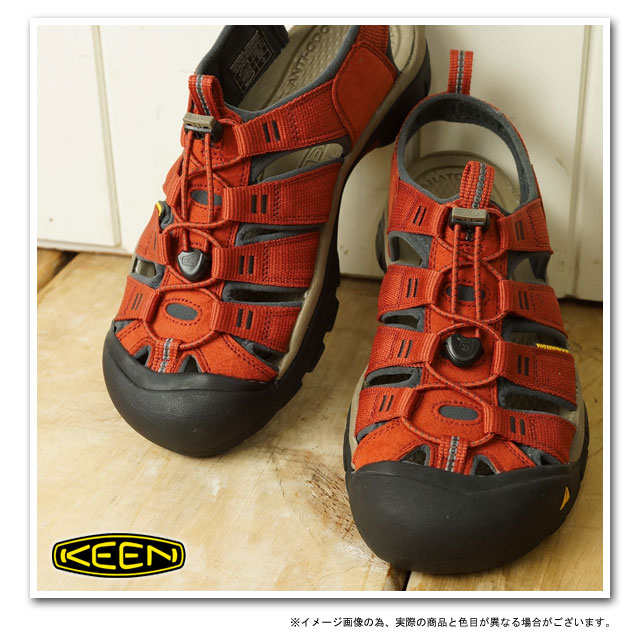 KEEN基恩MNS Newport H2運動涼鞋紐波特H2人Burnt Henna/Dark Shadow(1008392 SS13)