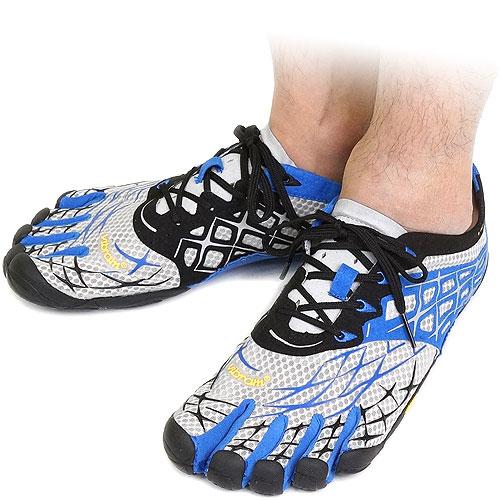 Vibram FiveFingers Vibram five fingers mens SEEYA LS Light Grey/Blue/Black Vibram five fingers five finger shoes barefoot ( 13M3807 ) fs3gm
