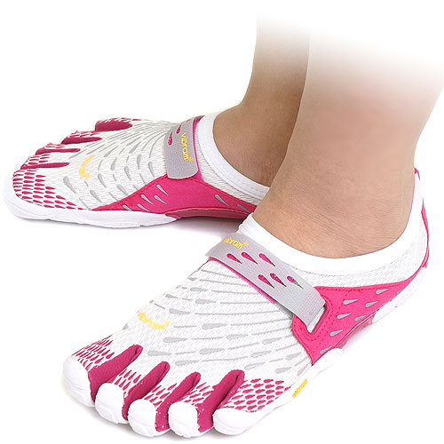 watch c9926 10ab9 Five Vibram FiveFingers Vibram five fingers mens  amp  Womens SEEYA White  Pink Light ...