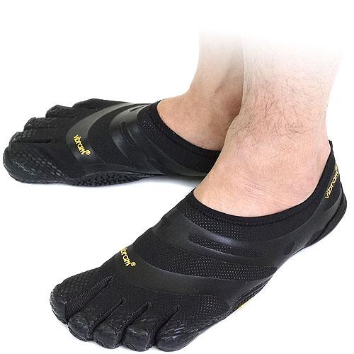 【即納】Vibram FiveFingers ビブラムファイブフィンガーズ メンズ EL-X Black ビブラム ファイブフィンガーズ 5本指シューズ ベアフット靴 [13M0101]