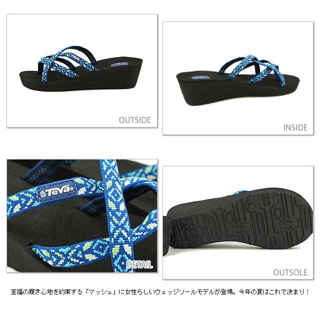 8bef8a44efbdc0 Teva Teva sandals Mush Mandalyn Wedge Ola 2 マッシュマンダリンウェッジオラ 2 women sports  sandals YUKITIMI TRIBAL AQUA (1000099-YUTA SS13)