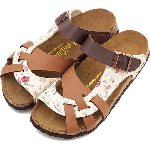 99b7d13ebf9 BIRKENSTOCK ビルケンシュトックレディース Papillio PISA sandals papilio Pisa BF Flower  Cream L-Brown D-BRN (380023 SS13) fs3gm
