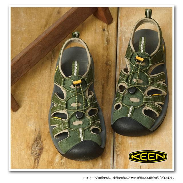 KEEN基恩MNS Kanyon体育凉鞋峡谷人Forest Night/Golden Yellow(1008404 SS13)