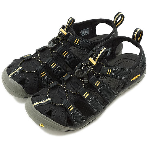 KEEN Kean WMN Clearwater CNX sports sandals Clearwater CNX women Black  Yellow (1008770 SS13) fs3gm