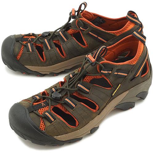 64aaa73123f2 KEEN Kean Arroyo II MNS sports sandals alloYong 2 men s Black Olive Bombay  (1008419 SS13) fs3gm