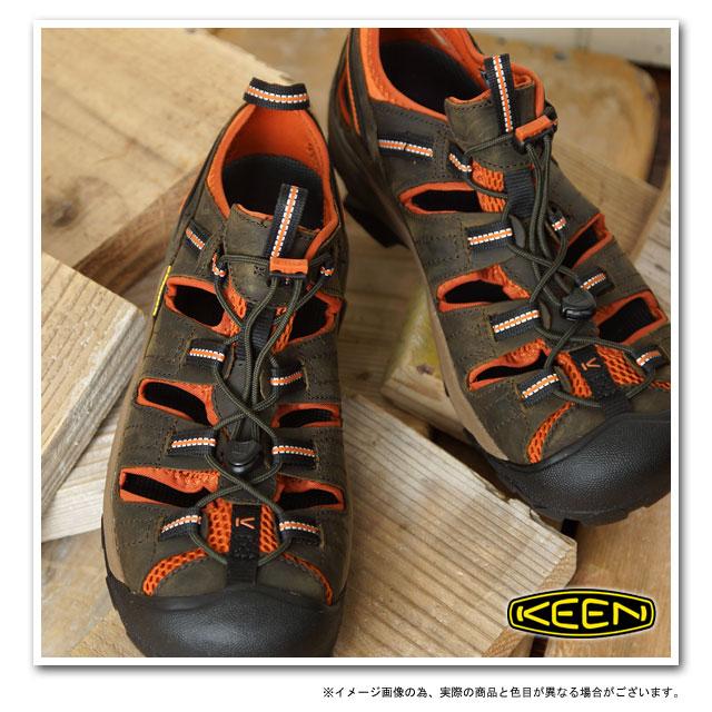 af2be9e100a KEEN Kean Arroyo II MNS sports sandals alloYong 2 men s Black Olive Bombay  (1008419 SS13) fs3gm
