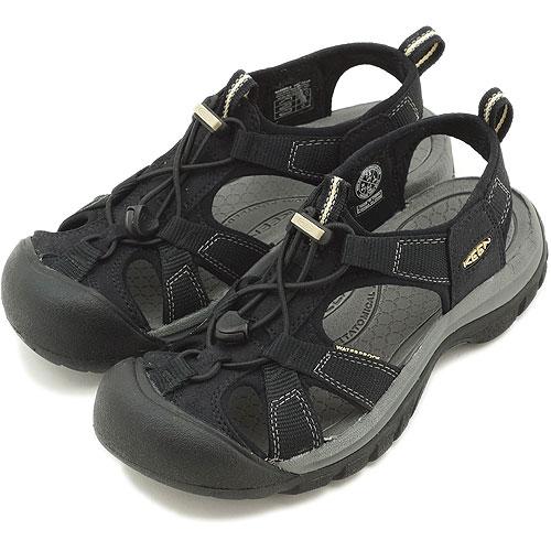 dce7ef53e9 KEEN Kean WMNS Venice H2 sports sandal Venice H2 women Black (1004009 SS13)  ...