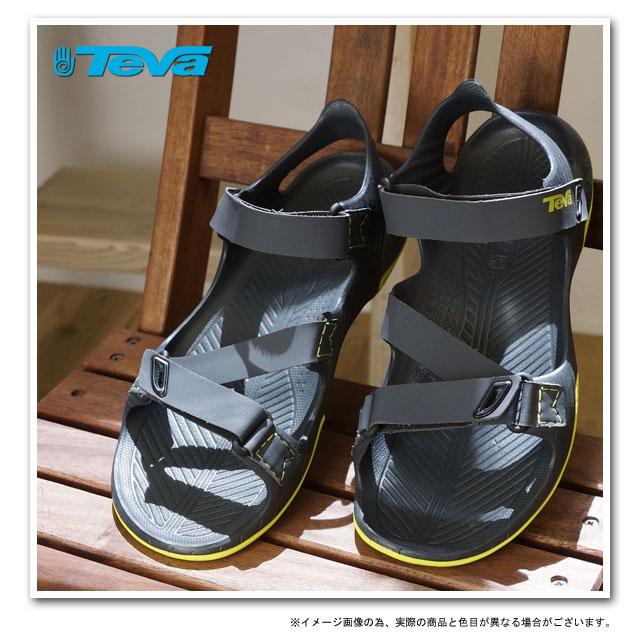 Teva Teva 凉鞋梭鱼梭鱼男式运动凉鞋灰色 (1002863 灰色 SS13)