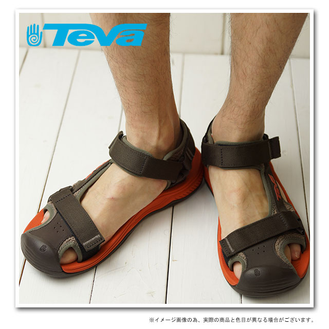 男子的TevaテバサンダルHurricane Toe Pro飓风二专业体育活动拖鞋TURKISH COFFEE(1000352-TKCF SS13)