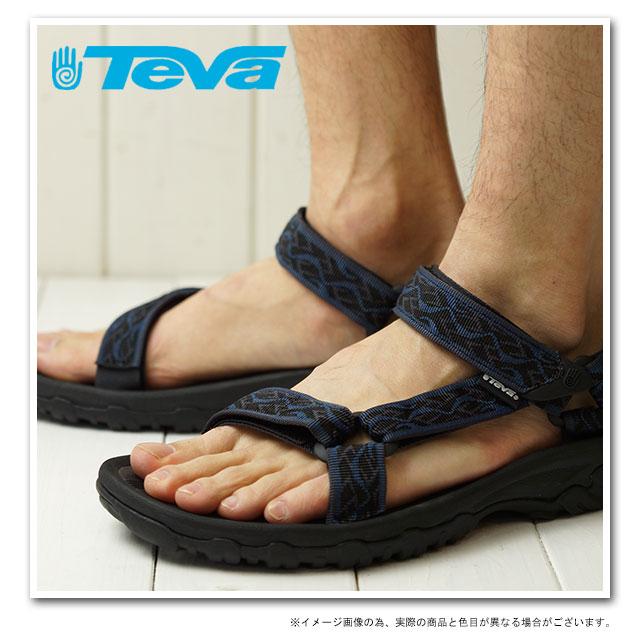 Teva Teva Sandals Hurricane XLT M Hurricane XLT men's Sport Sandals WAVY TRAIL INSIGNIA BLUE ( 4156-WTIB SS13 ) fs3gm