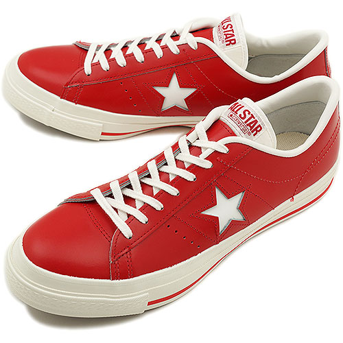 CONVERSE Converse sneakers ONE STAR J onestar Japan RED ( 32346602 SS13 )