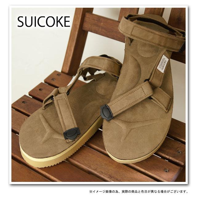 a1356d09937a mischief  SUICOKE Sui cook sandals DEPA-ECS (vibram foot Bet) BEIGE ...